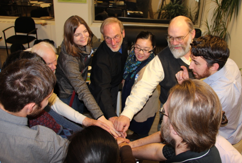 Groundswell training for Community Power Program leaders in February