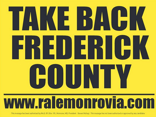 RALEtakebackfrederickcounty