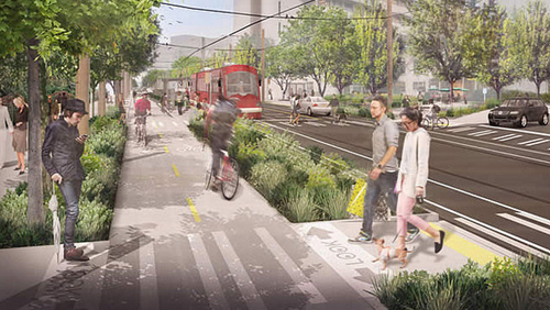 an ecodistrict concept for Seattle (rendering by Mithun, courtesy of Montgomery County, MD Planning Dept)