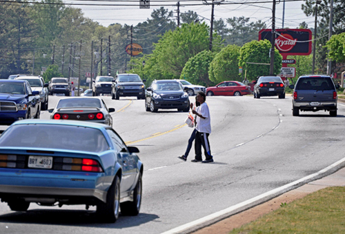 unsuited for walking, south of Atlanta (photo courtesy of Stephen Lee Davis)