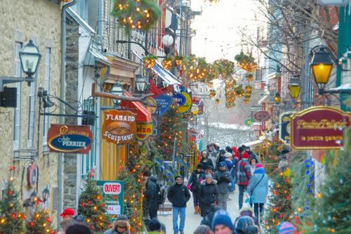 Carnival de Québec, Québec City, Québec. (flickr/Jamie McCaffrey)