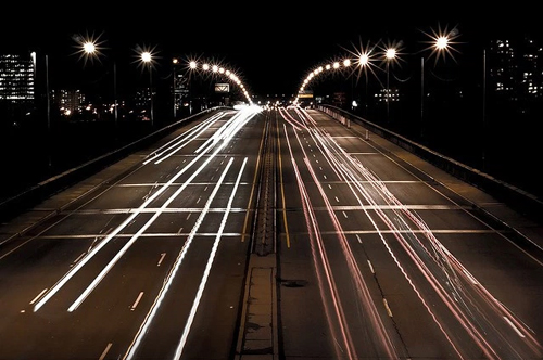 The wider the lanes, the easier it is to speed. (Credit: Pier-Luc Bergeron, Flickr)