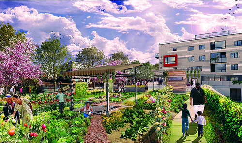 The Rose (by: MSR Design, courtesy of Urban Land Institute)