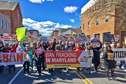March on Annapolis to Ban Fracking in MD: Photos and Media Coverage