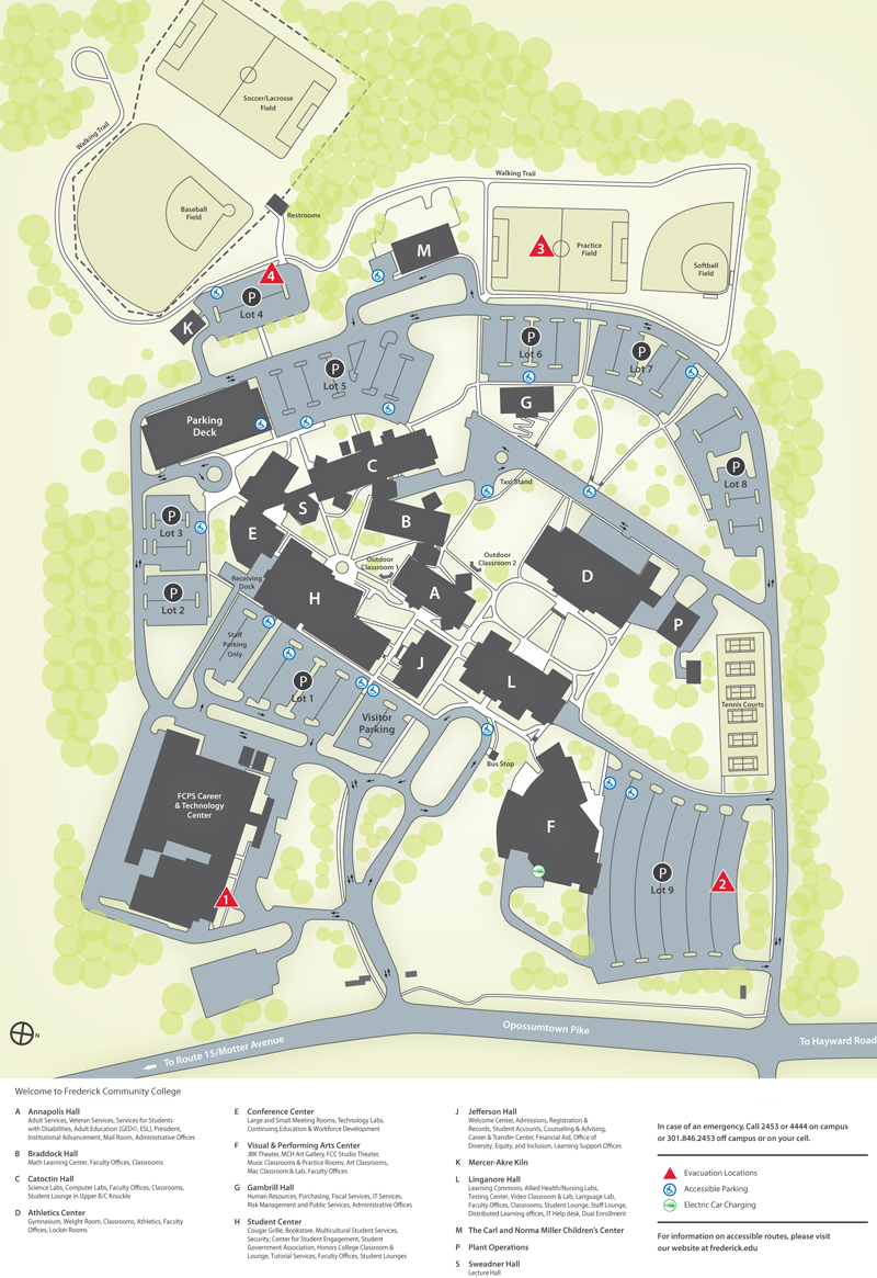 FCC campus map
