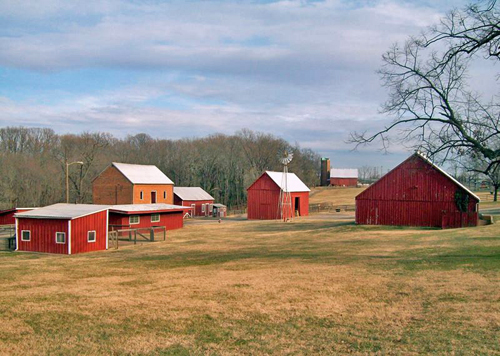 Oxon Hill Farm at Oxon Cove National Park